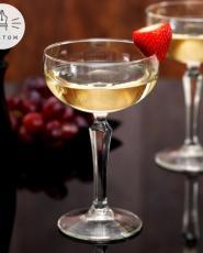 Diamant Champagne & Pralines gift set - Hebbertjes - 2HB