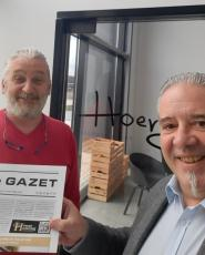 Oktober - De Gazet bij kookworkshops Hoenger