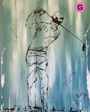 Golfer - Hebbertjes - 2HB