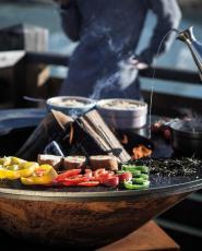 Vuurschaal en barbecue all-in-one - Hebbertjes - 2HB