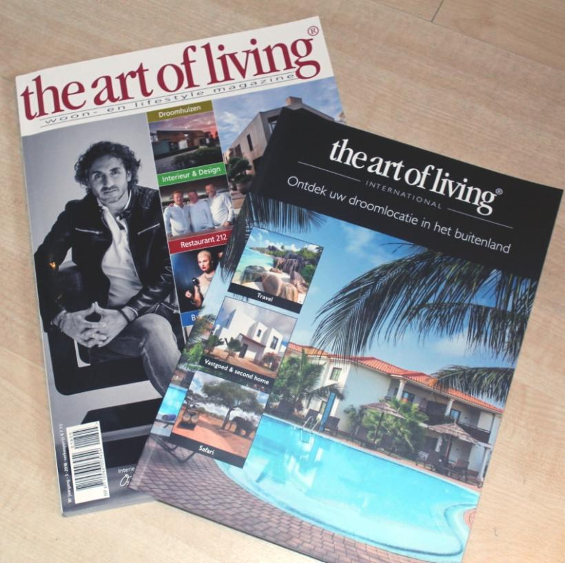 The art of living - In de pers - 2HB