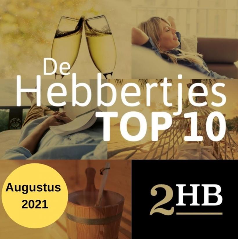 De TOP 10 Hebbertjes van augustus 2021 - Hebbertjes - 2HB