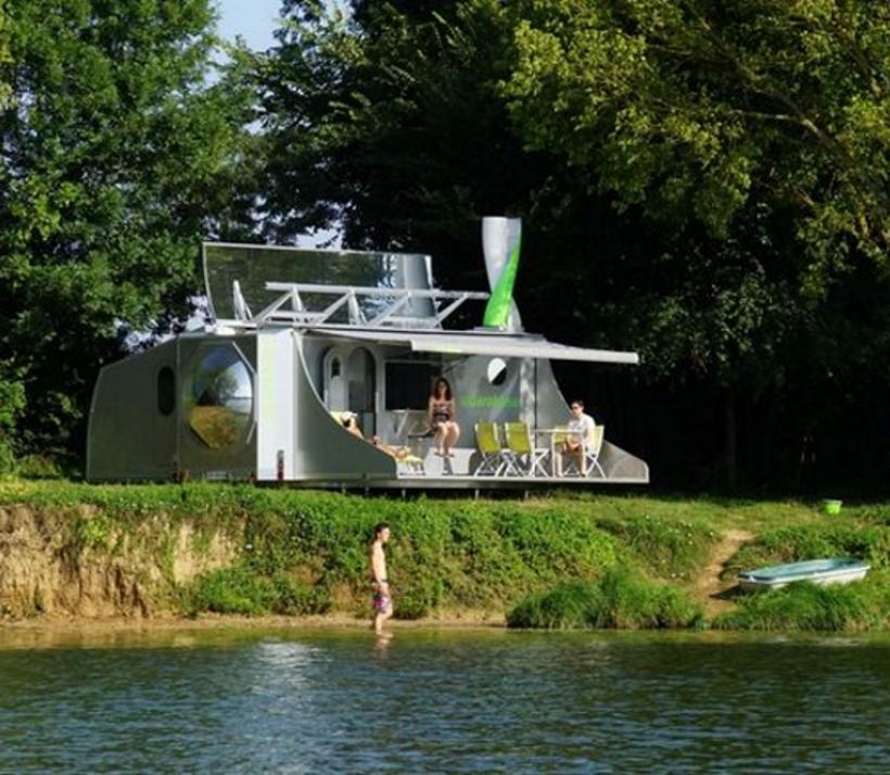 Mobiel vakantiehuis Scarabane - Innovatief - 2HB