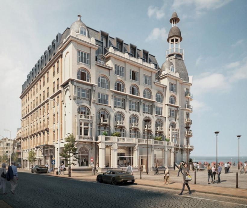 Nieuwpoort keurt grootschalig nieuwbouwproject 'The Grand' goed - Exlusief - 2HB
