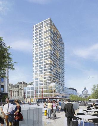 The Antwerp Tower - 2de verblijf in een stad - 2HB