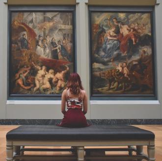 Authentieke en online kunstbeleving - Cultuur - 2HB