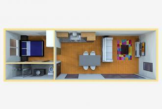 Minihuisjes - Innovatief - 2HB