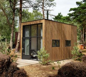 Tweede verblijf op 20 m² - Innovatief - 2HB
