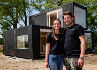 Woning bouwen in drie uur tijd - Storytelling - 2HB