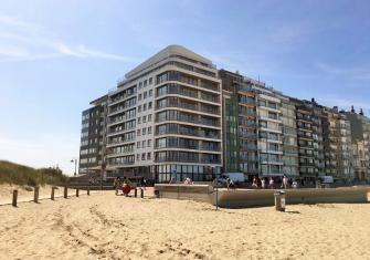 Exclusief appartement met zicht op duinen, strand en zee - Kust - 2HB