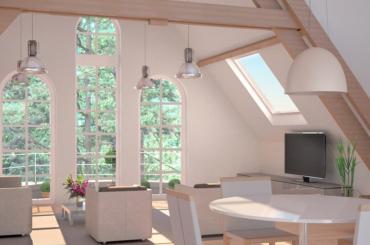 Groot Park - Interieur villa-appartement